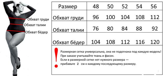 a1951cb408d39 Размерная сетка БАТАЛ